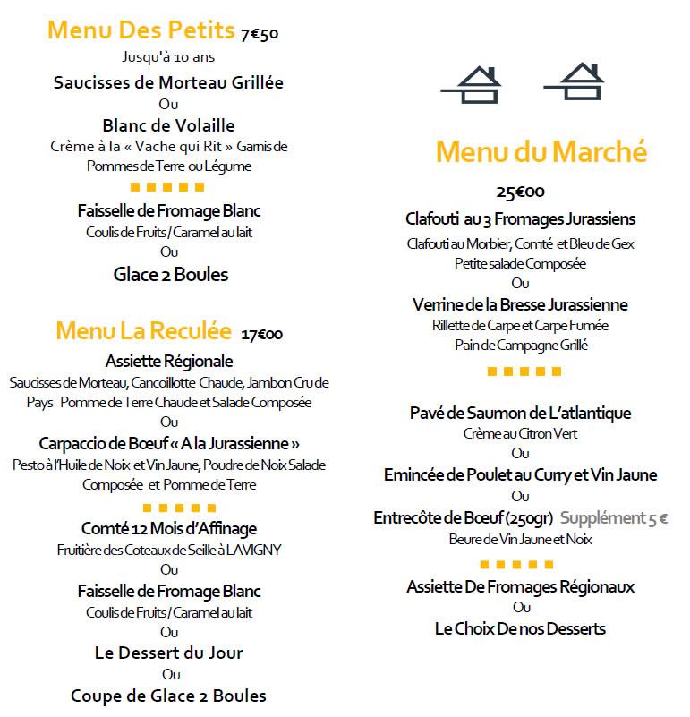 Baume les messieurs le restaurant de l 39 abbaye jura au for Aix cuisine du terroir menu